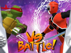 TMNT Vs Power Rangers : Ultimate Hero Clash 2
