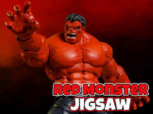 Red Monster Jigsaw